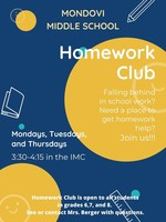 Middle School Homework Club