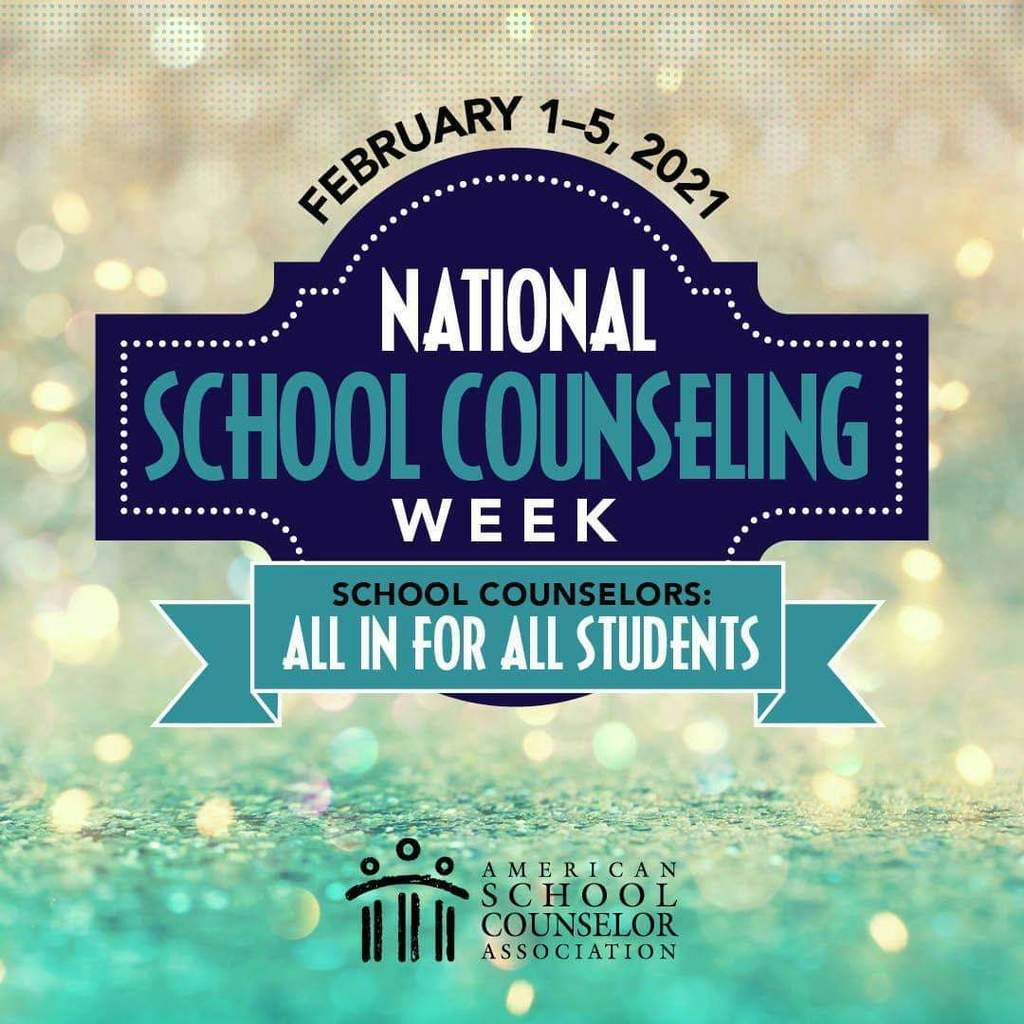 National School Counseling Week Poster