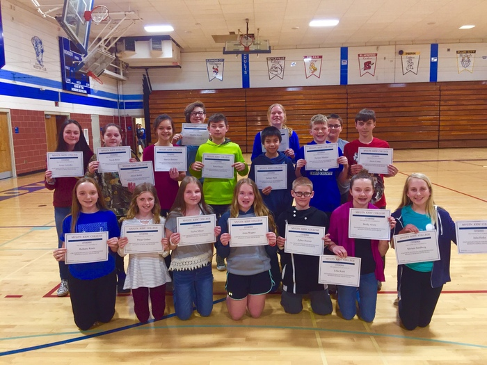 Students of the Month - April