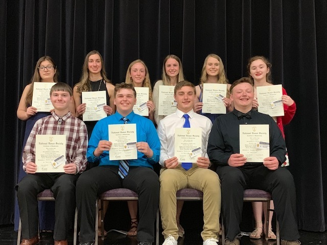 2019 Honor Society Inductees