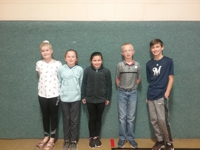4th grade Battle of the Books Team