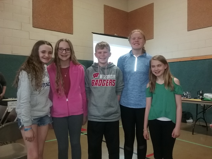 6th grade Battle of the Books Team