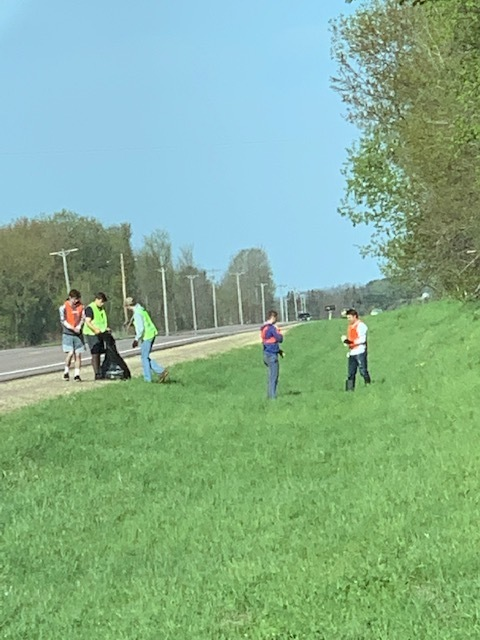NHS Annual Highway Clean Up