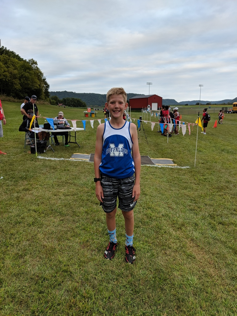1st place finisher at C-FC Cross Country Meet