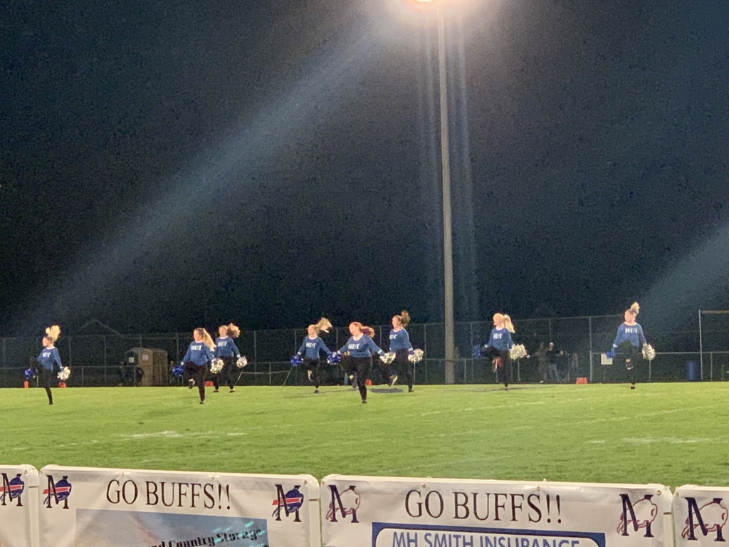 Dance Team at Halftime!