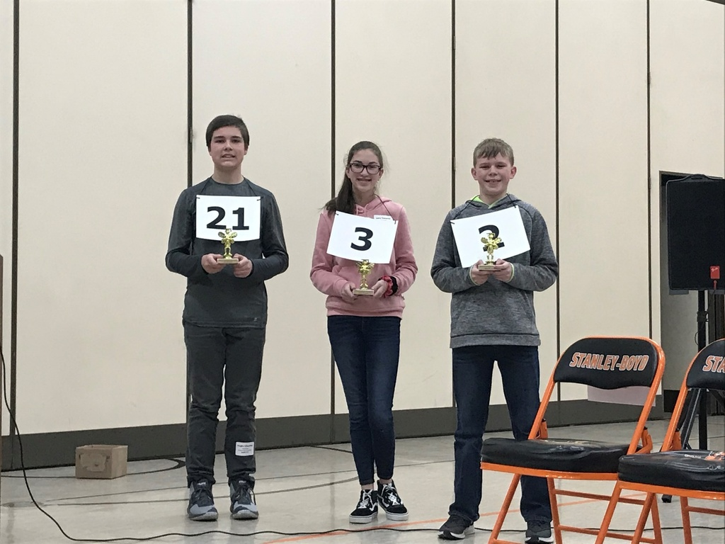 Zach  M. placed 3rd at CESA 10 Regional