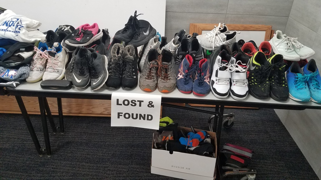 Lost and found - shoes